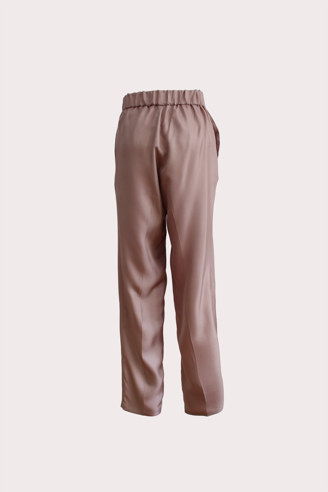 Katyusha Cocoa simple pants