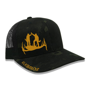 """ElkBros"" Hat  - Shadow Camo/Black"