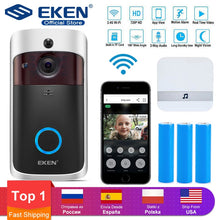 Load image into Gallery viewer, Smart Video Intercom  Door Bell WIFI wireless security Camera For home