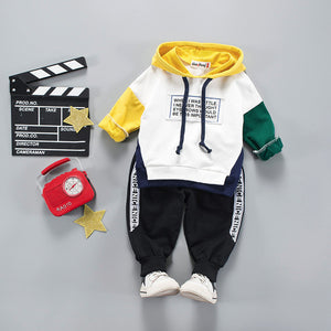 Children Clothing 2019 Autumn Winter Toddler Boys Clothes Set Hoodie+Pants 2pcs Outfit Kids Clothes Suit For Boys Clothing Sets