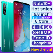 Load image into Gallery viewer, SAILF Note10 Plus Android 9.0 Octa Core Mobile Phone 5.8' FHD+ 16MP Triple Camera 4G RAM 64GB ROM Smartphone gsm wcdma unlocked