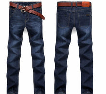 Load image into Gallery viewer, 2019 high quality  Brand New Men's Fashion Jeans Hot Jeans For Young Men Sale Men's Pants Casual Slim Cheap Straight Trousers
