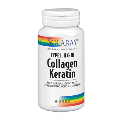 collagen keratin solaray
