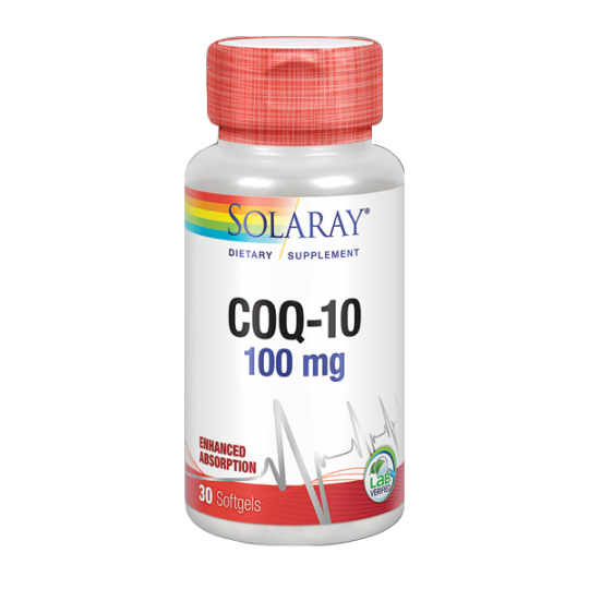 Co Q10 ubiquinol Solaray