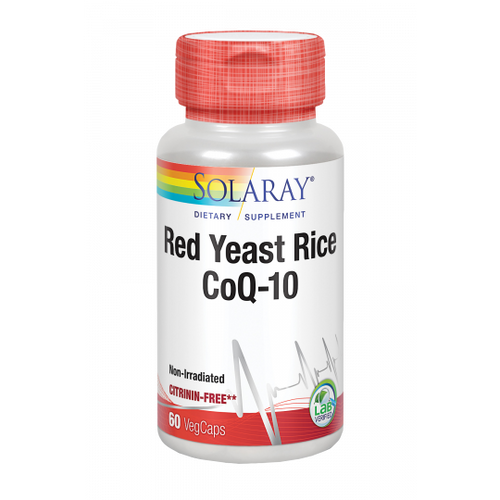 Red Yeast Rice con Q10 Solaray