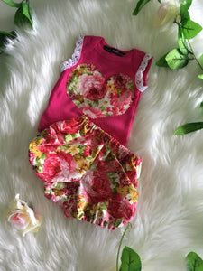 Two Piece Floral Set
