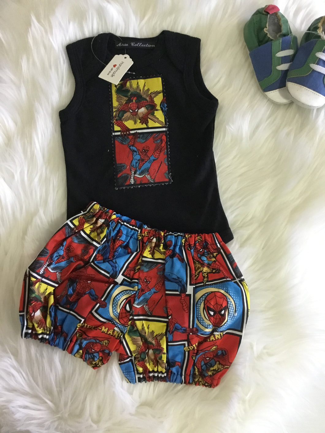 Boys Superhero two piece