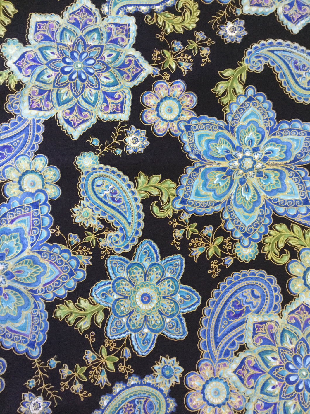 Paisley & Floral Fabric