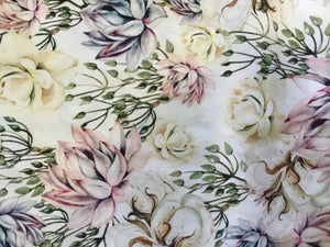 Pastel Floral Fabric
