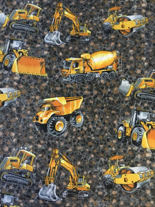 Diigers & Trucks Fabric