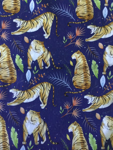 Tiger Design Fabric