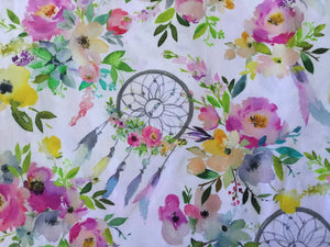 Floral Dreamcatcher Fabric