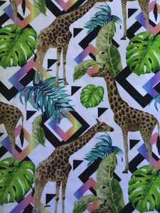 Giraffe Design Fabric