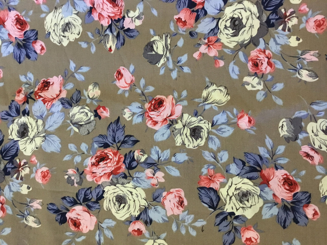 Vintage Style Fabric
