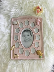 Baby's 1st year Photo Frame