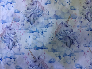 Cotton Unicorn Fabric
