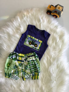 Boys Tractor two piece set