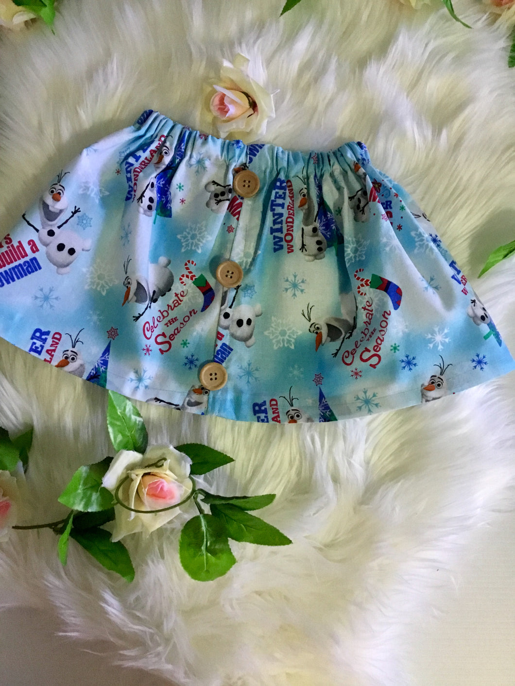 Charactor Design Girls Skirt