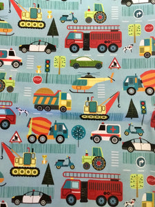 """On the Road"" fabric"