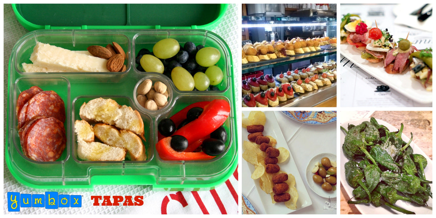 The Tapas approach to Packed Lunches