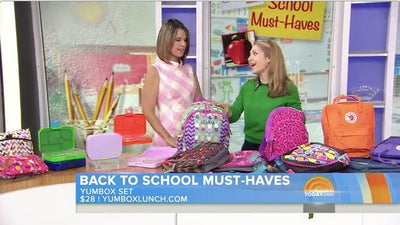 Back to School with Yumbox on the TODAY Show
