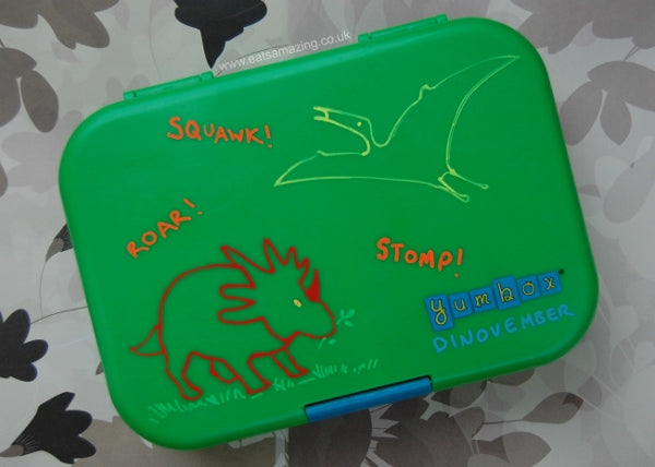 Decorate your Yumbox with chalk markers