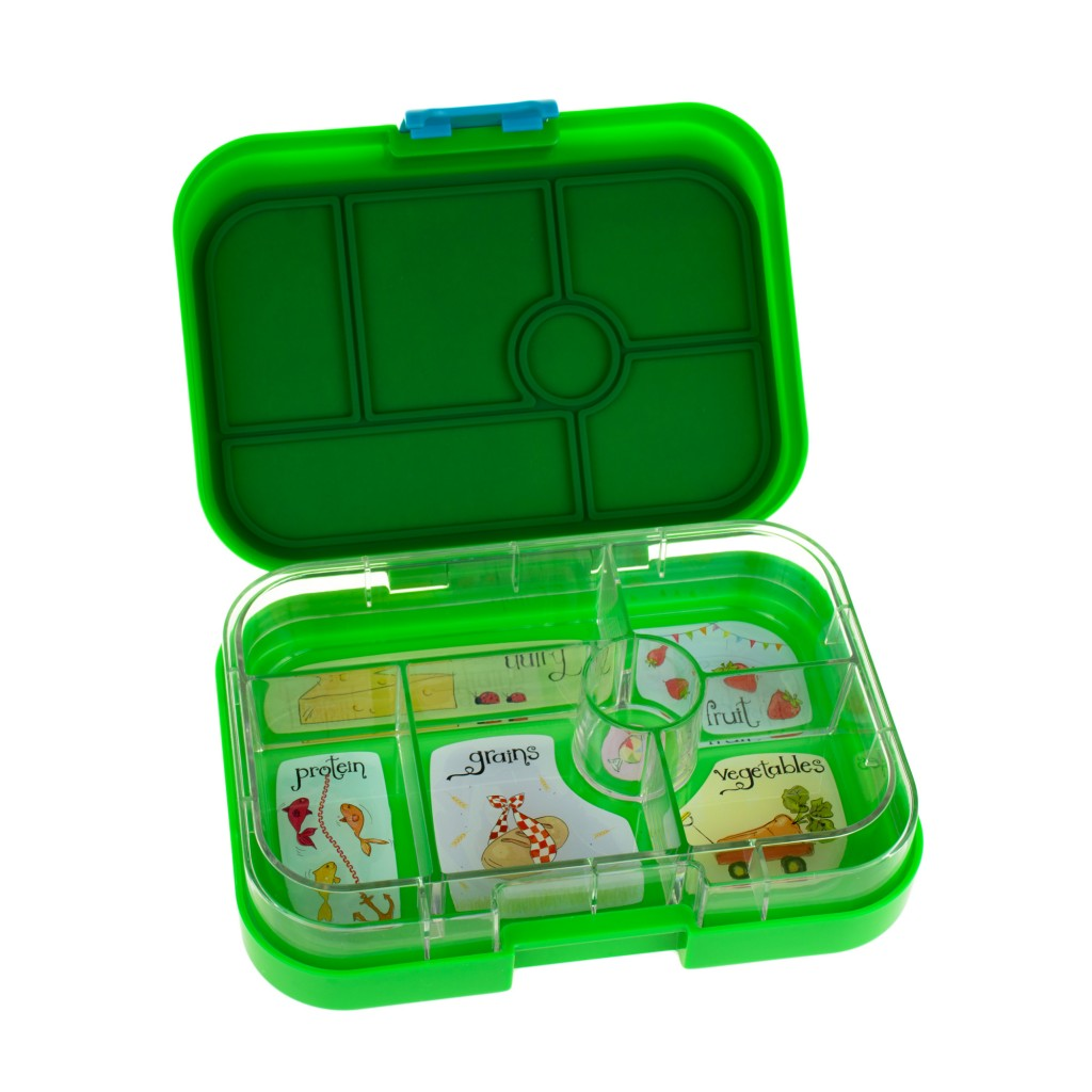 Yumbox Pomme Green Whimsical Tray