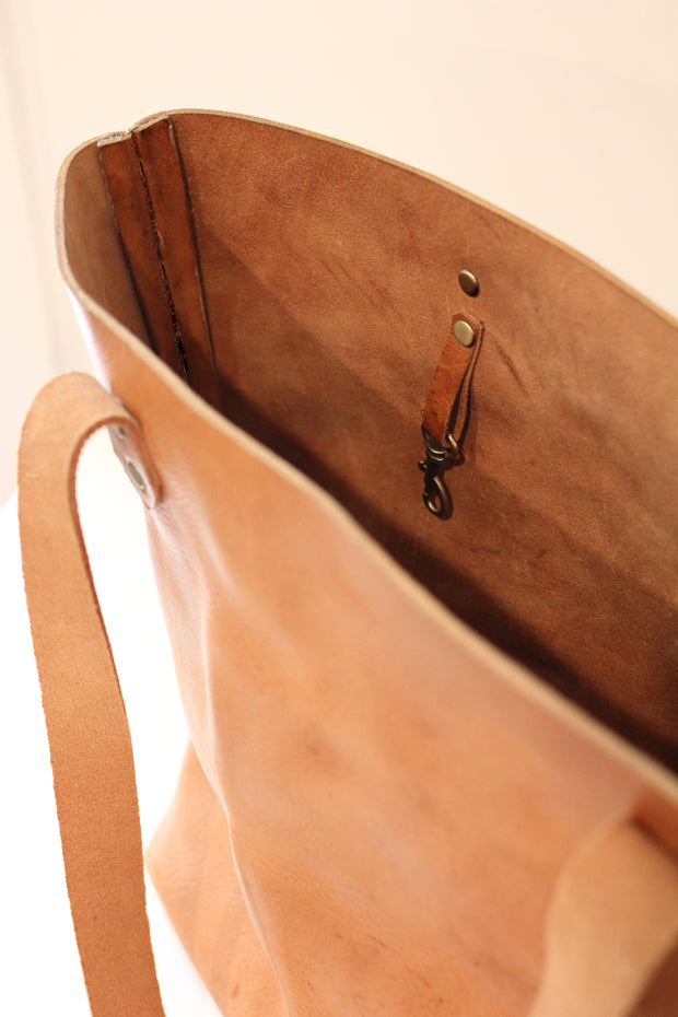 Leather Tote 1