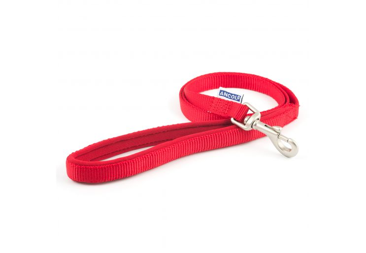 Padded Nylon Dog Lead. - Riva Pet Products