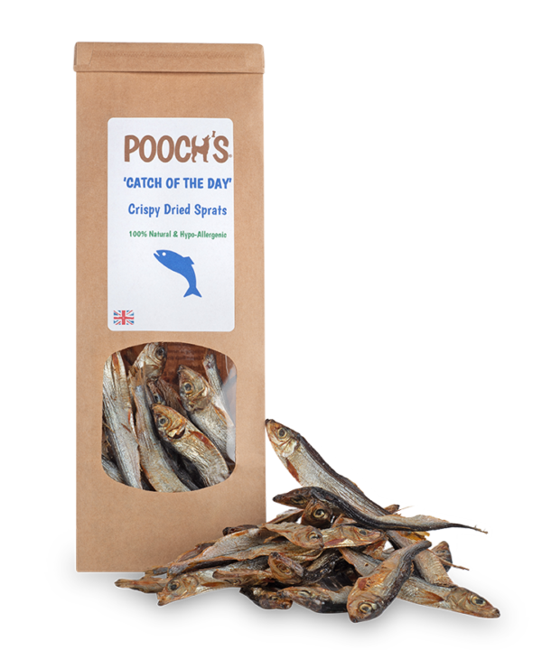 Catch of the Day (Gently Dried Sprats). - Riva Pet Products