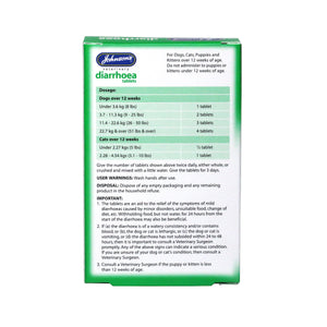 Diarrhoea Tablets. - Riva Pet Products