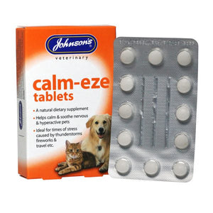 Calm-Eze Tablets. - Riva Pet Products