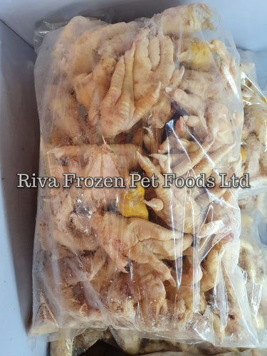 Raw Chicken Feet. - Riva Pet Products