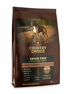 Gelert Country Choice, Grain Free Turkey & Veg. - Riva Pet Products