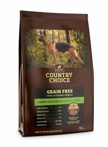 Gelert Country Choice, Grain Free Lamb & Veg. - Riva Pet Products