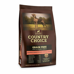 Gelert Country Choice, Grain Free Salmon & Sweet Potato. - Riva Pet Products