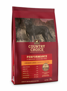 Gelert Country Choice, Performance Chicken & Rice. - Riva Pet Products