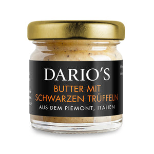 DARIO'S BUTTER WITH BLACK TRUFFLES FROM ITALY