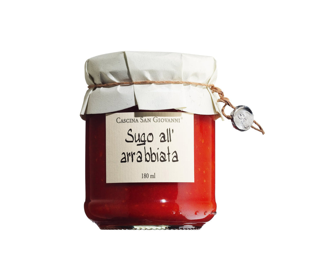 CASCINA SAN GIOVANNI Sugo all'arrabbiata 180ml