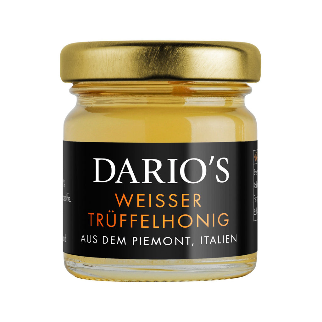 DARIO'S WHITE TRUFFLE HONEY FROM PIEDMONT, ITALY, 50G