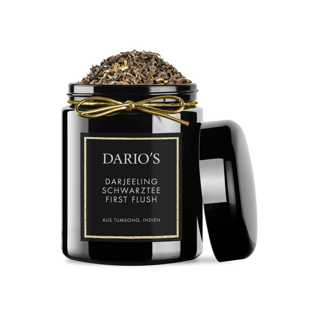 DARIO'S DARJEELING BLACK TEA FIRST FLUSH AUS INDIEN, 75G
