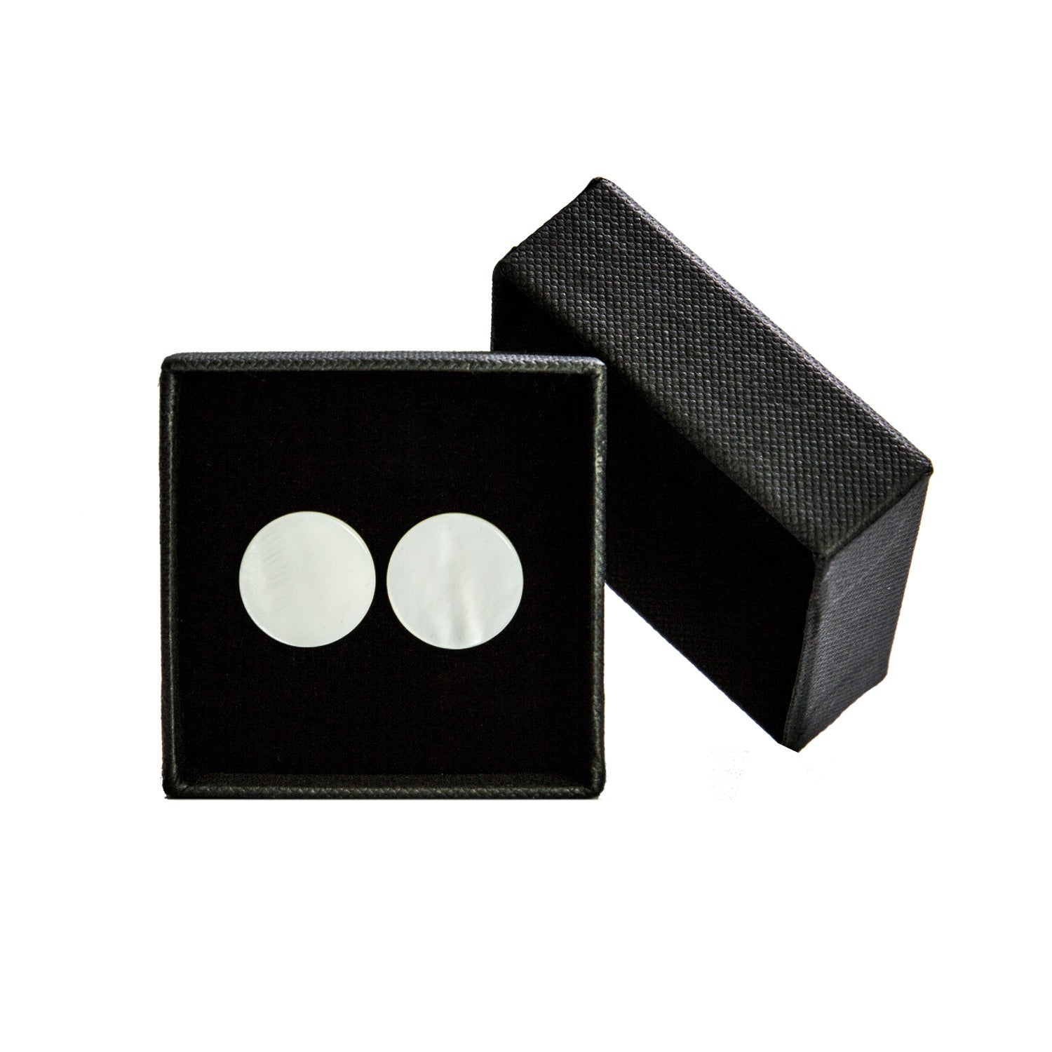 DARIO'S Couture mother of pearl Cufflinks with personalization