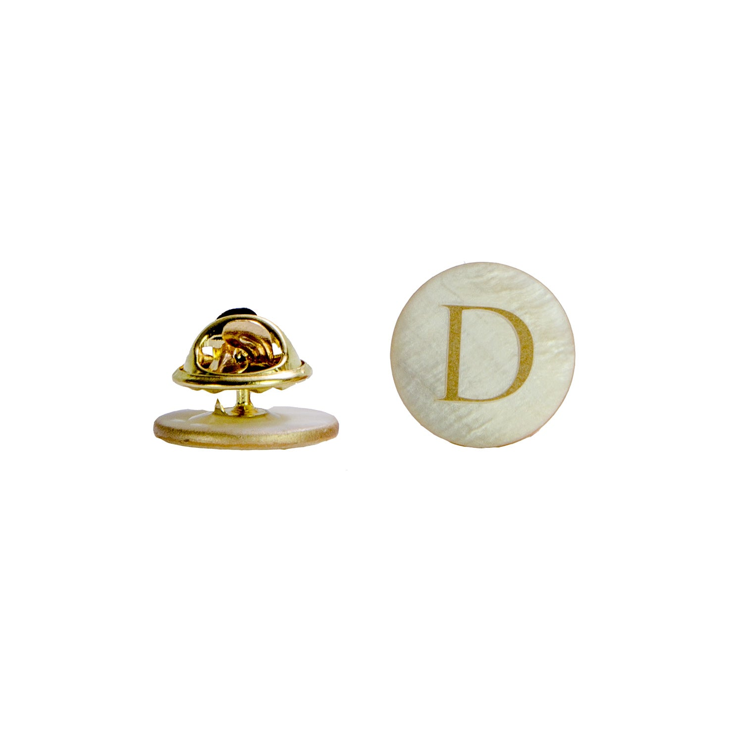 DARIO'S Couture Pin made of mother of pearl with personalization (50 pcs.)
