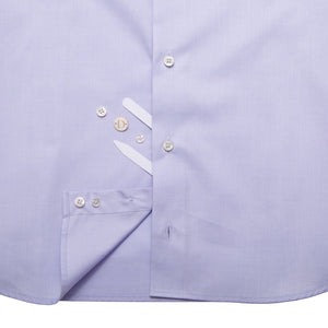 DARIO'S Couture Stand-up collar Men's Shirt Hamburg in 140/2, Lightblue