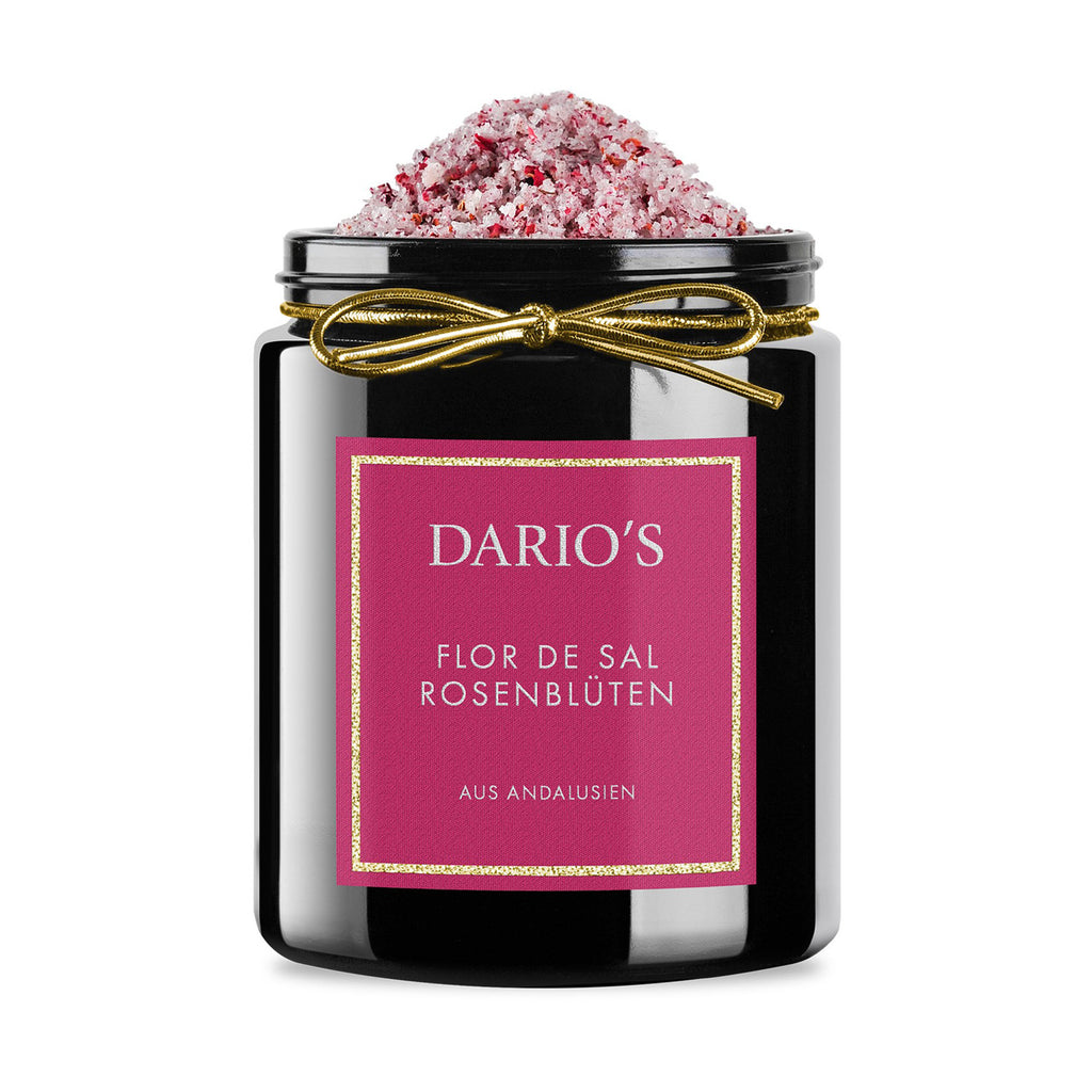 DARIO'S FLOR DE SAL ROSE PETALS FROM ANDALUSIA, 175G