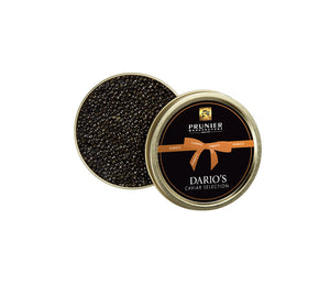 DARIO'S CAVIAR SELECTION BY PRUNIER, 125g, made in France