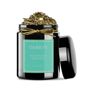 DARIO'S FRUITY GREENTEA FROM CHINA, 100G