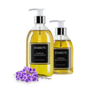 DARIO'S VERBENA LIQUID SOAP FROM FRANCE, 500ML