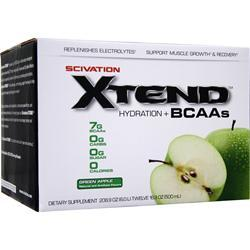 Scivation Xtend RTD Green Apple 12 - 16.9 oz. Bottles