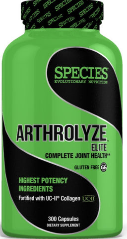 Species Nutrition Arthrolyze Elite 300 Capsules